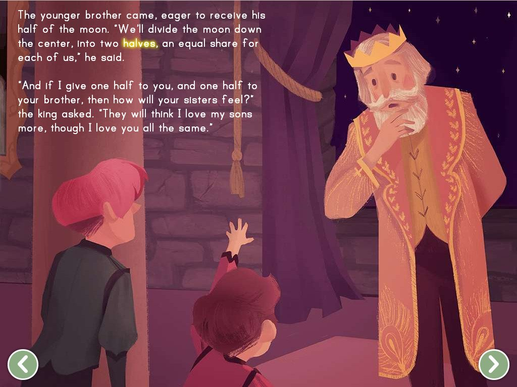The King And The Moon Story Story Education Com