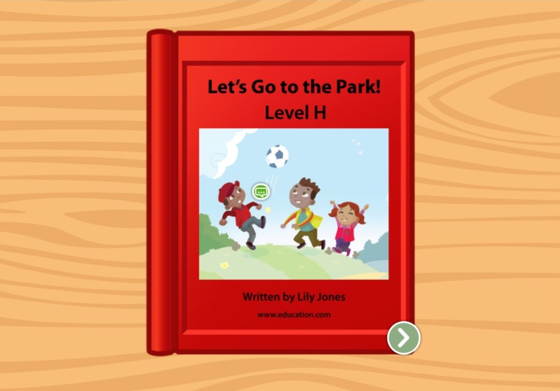 1st grade Reading & Writing Stories: Let's Go To The Park!: Level H