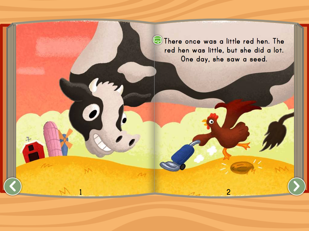 1st grade Reading & Writing Stories: Little Red Hen Story