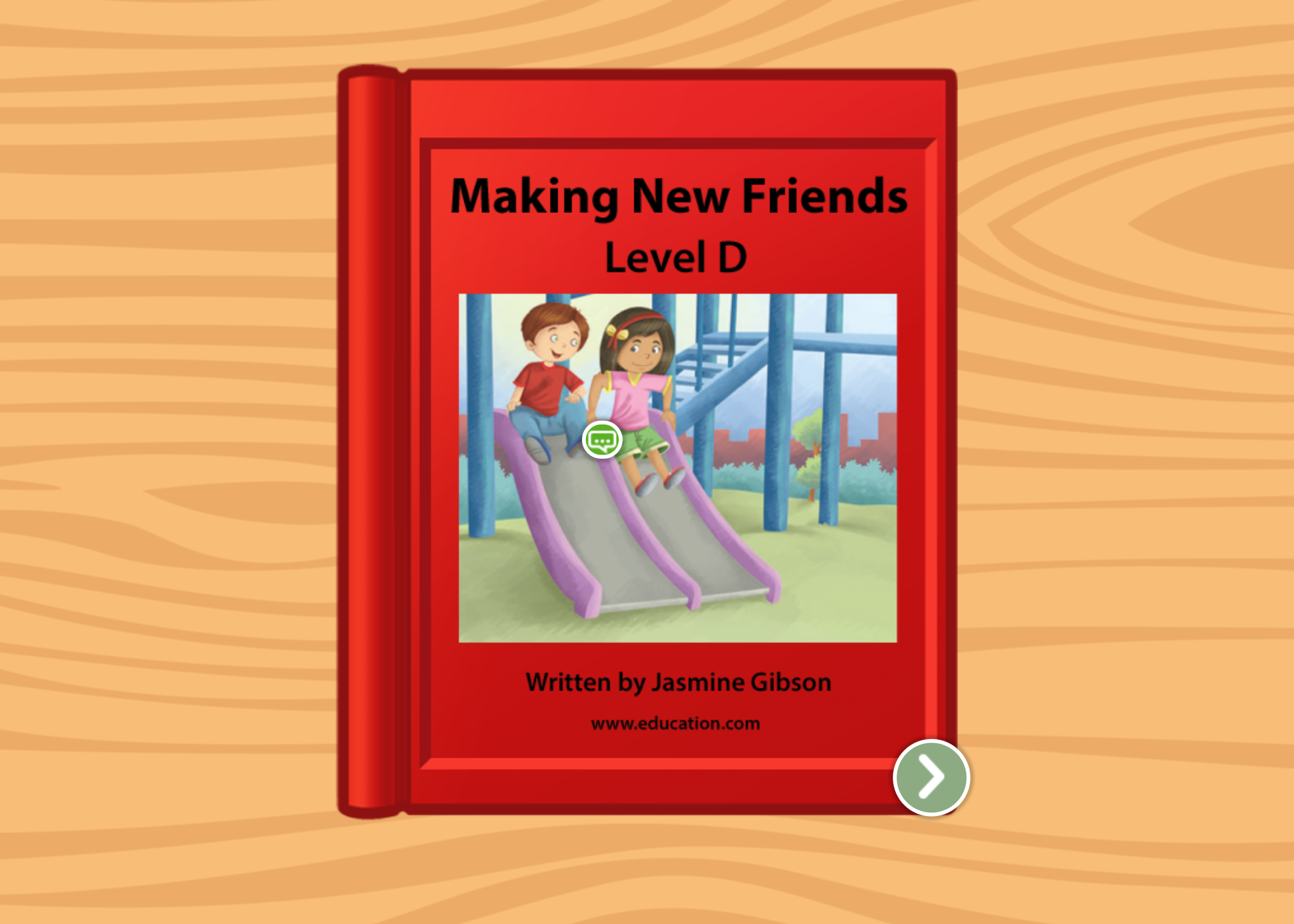 Kindergarten Reading & Writing Stories: Making New Friends: Level D