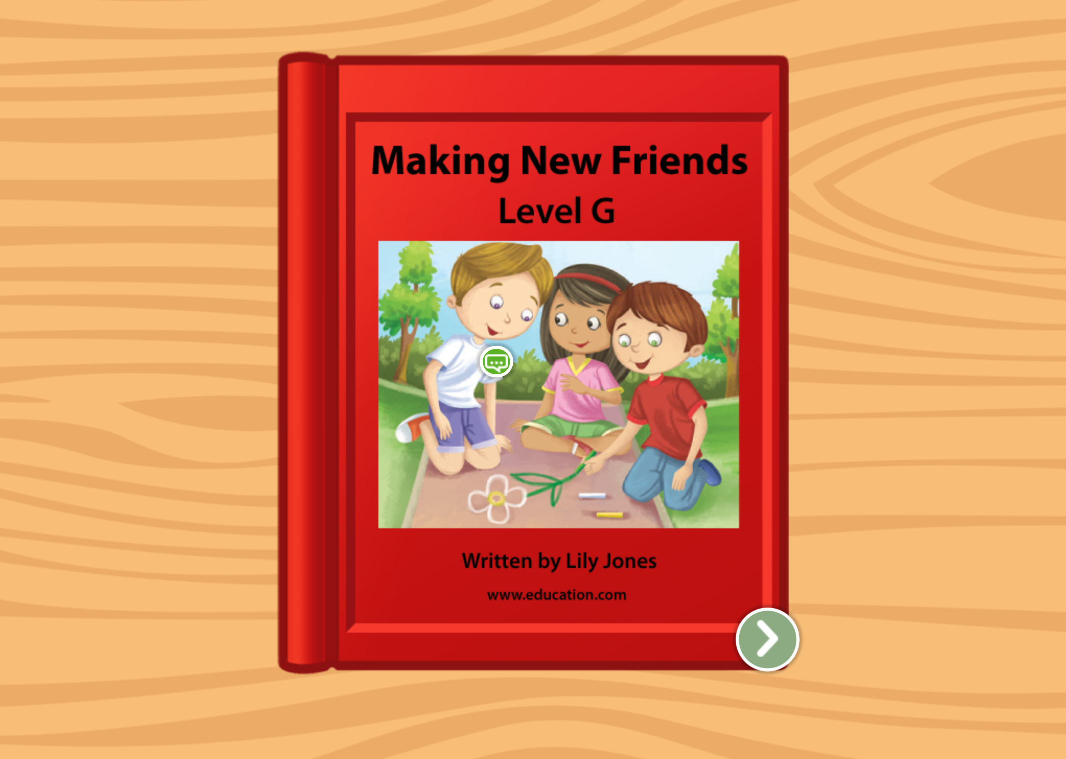1st grade Reading & Writing Stories: Making New Friends: Level G