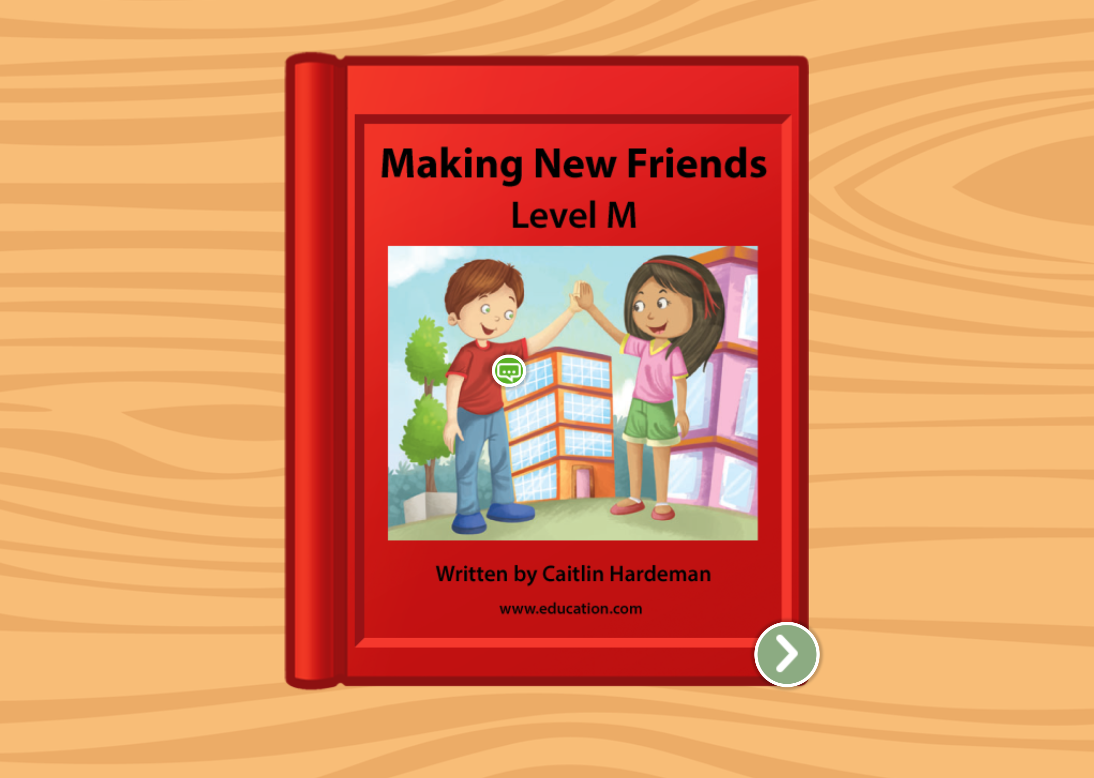 2nd grade Reading & Writing Stories: Making New Friends: Level M
