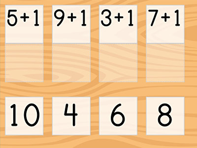 Match: Addition Patterns of 1 More