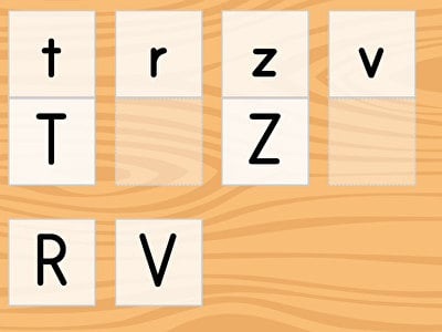 Match the Letters M-Z