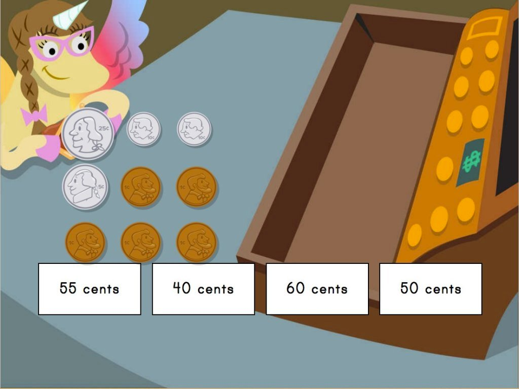 Money Math Shopping with Penelope Game | Game | Education.com