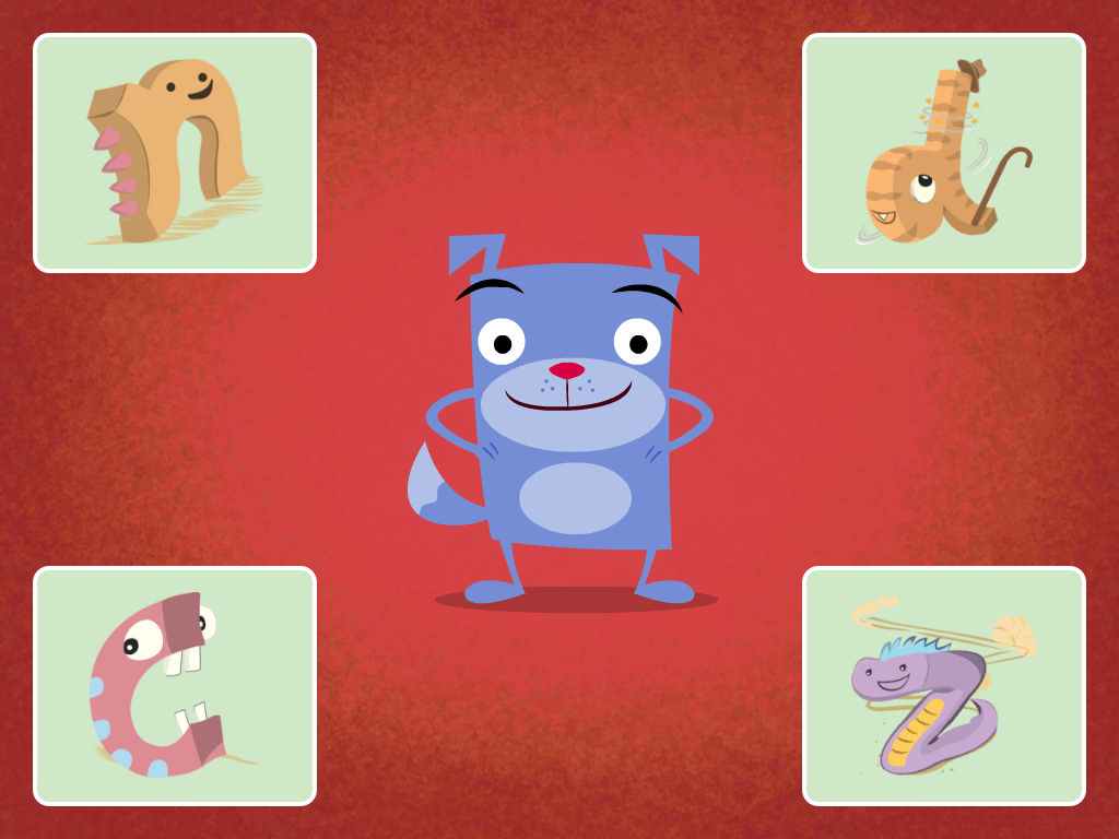 Kindergarten Reading & Writing Games: Monster Shout: Reading Comprehension