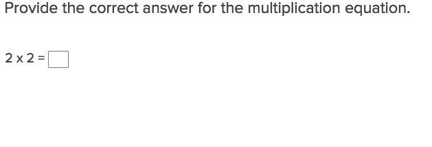 Multiply by Numbers 2-5