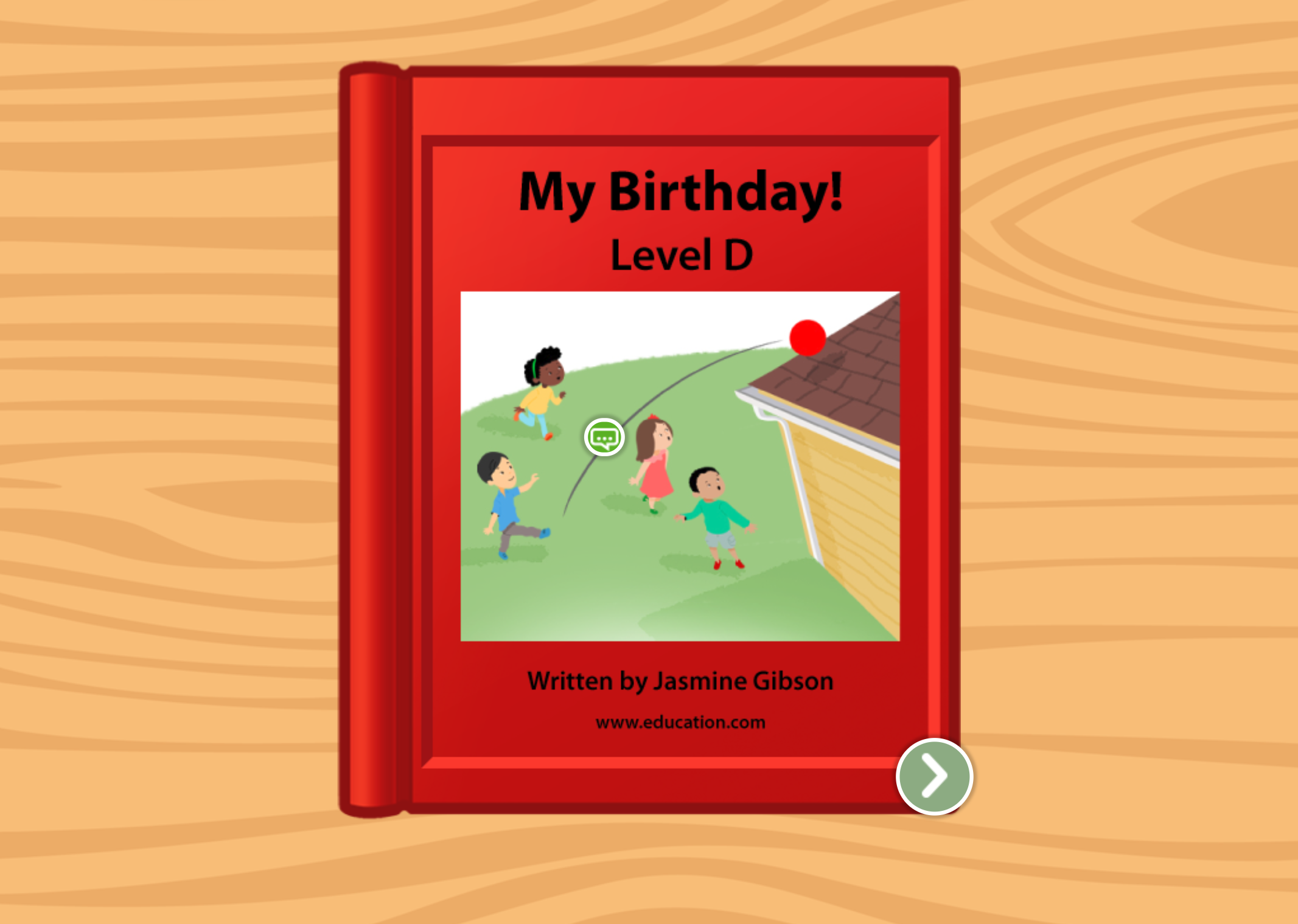 Kindergarten Reading & Writing Stories: My Birthday!: Level D