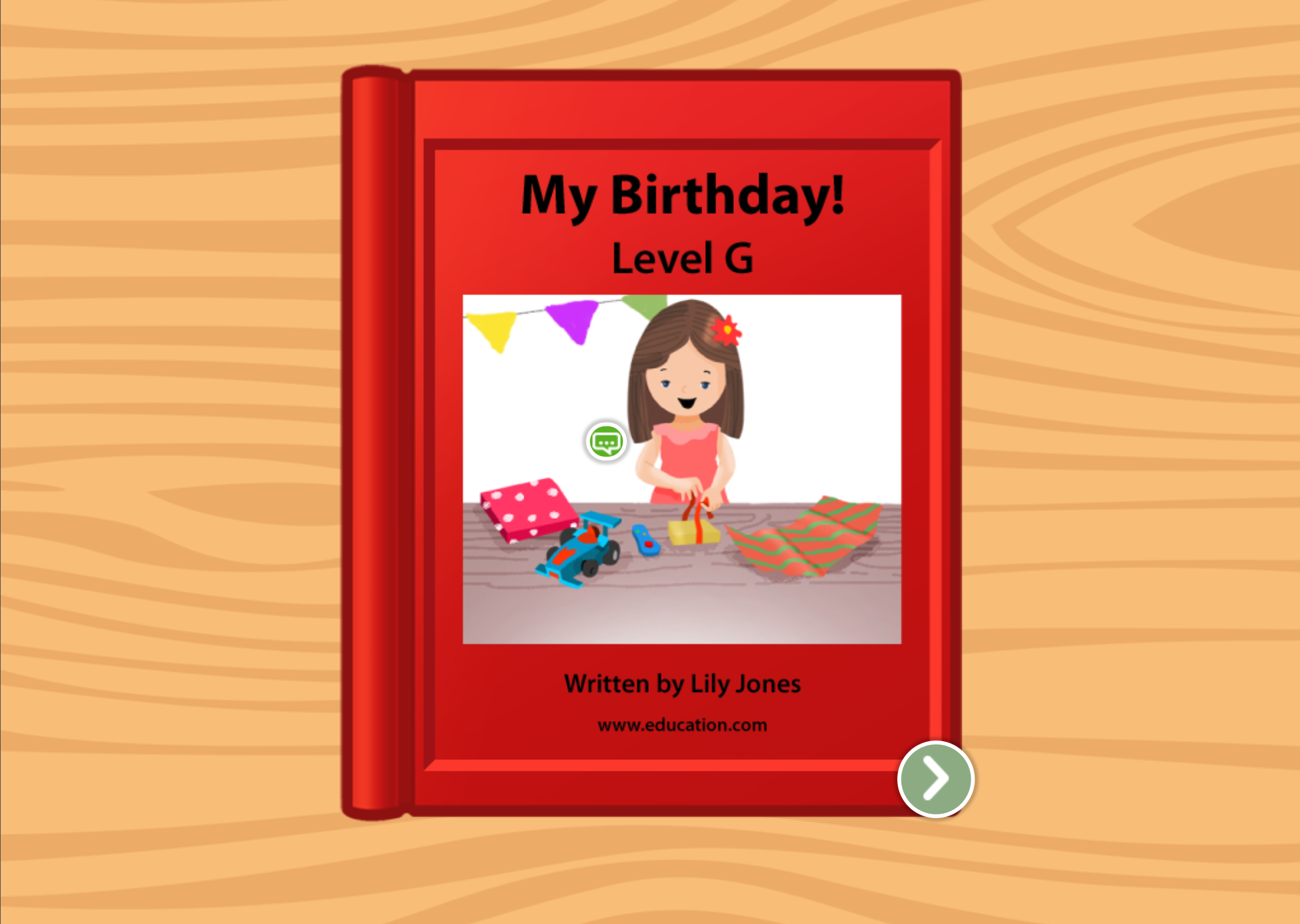 1st grade Reading & Writing Stories: My Birthday!: Level G