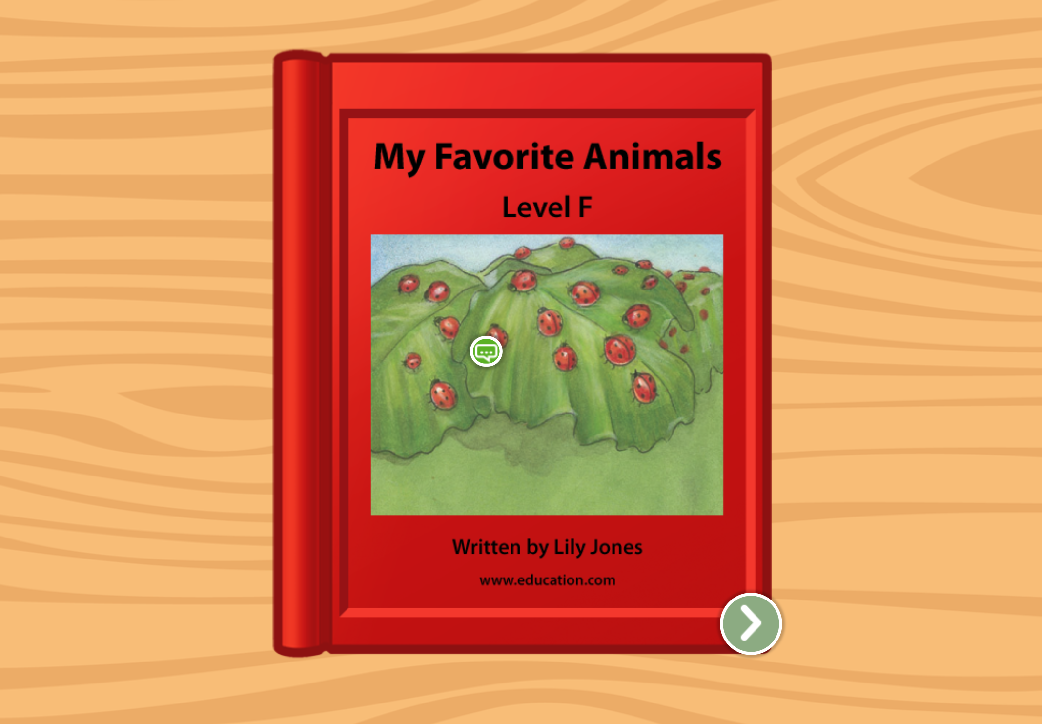 1st grade Reading & Writing Stories: My Favorite Animals: Level F