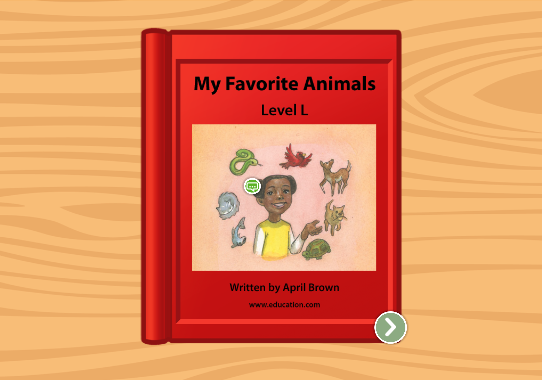 2nd grade Reading & Writing Stories: My Favorite Animals: Level L