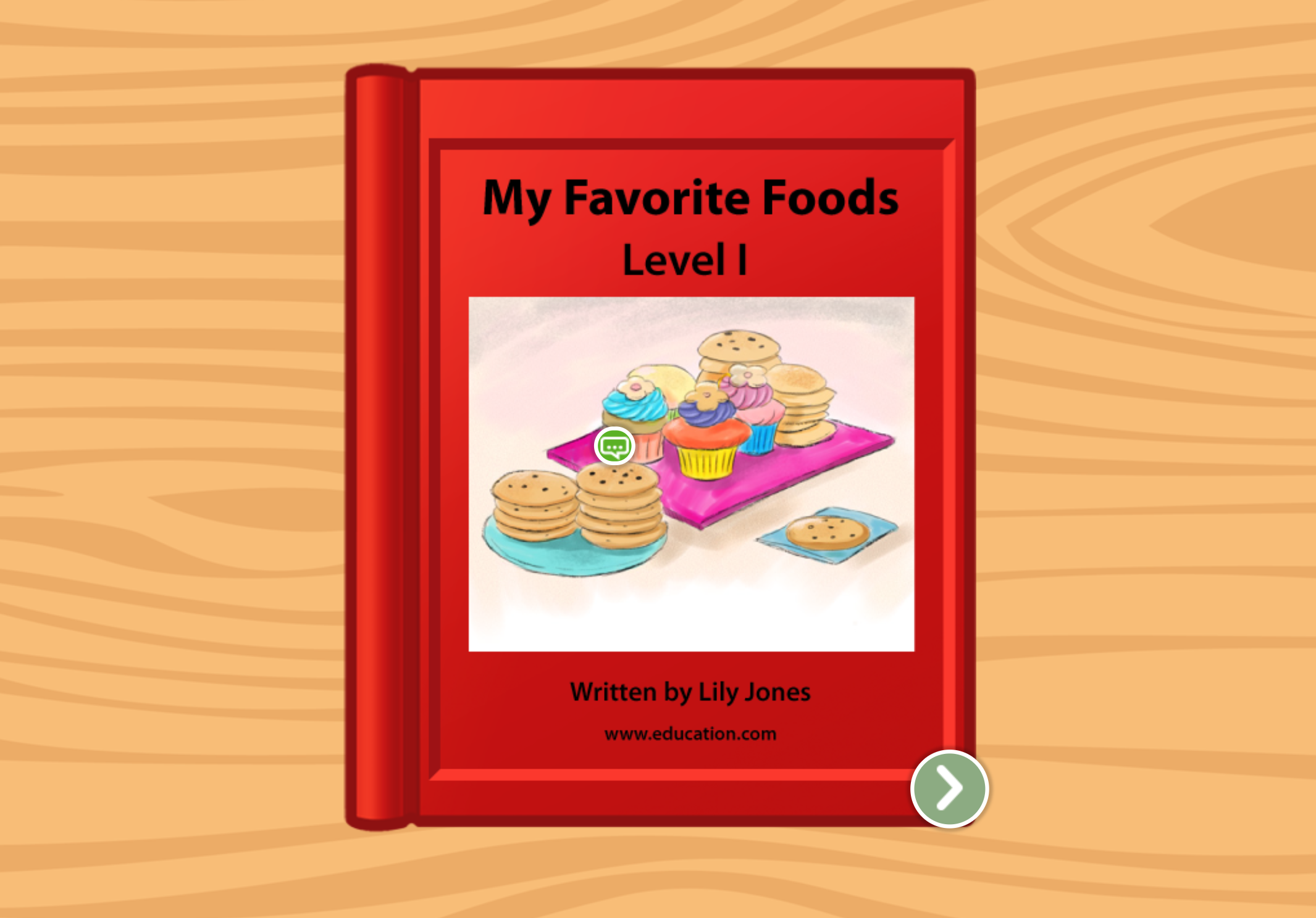 1st grade Reading & Writing Stories: My Favorite Foods: Level I