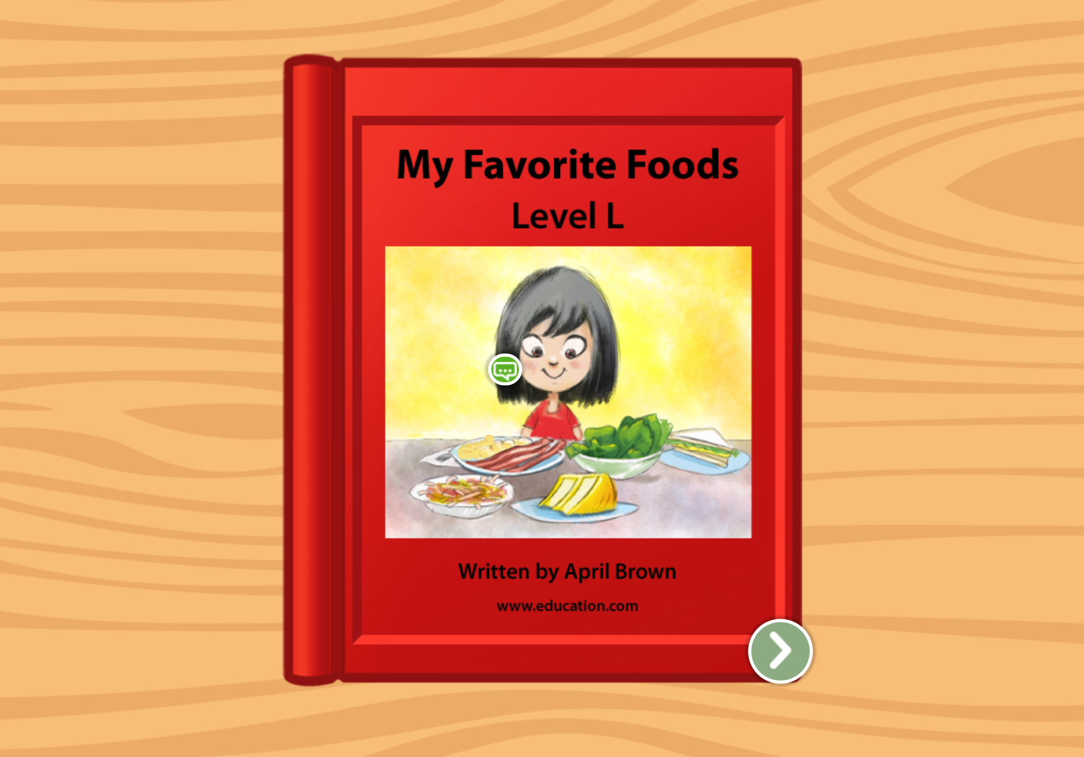 2nd grade Reading & Writing Stories: My Favorite Foods: Level L