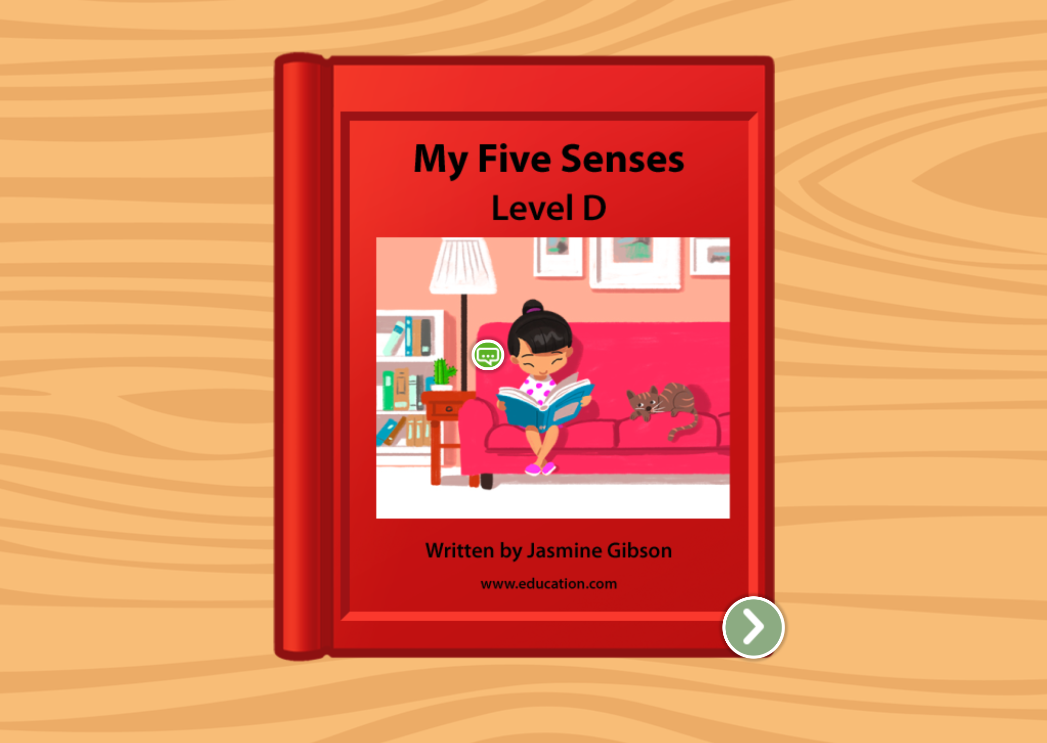 Kindergarten Reading & Writing Stories: My Five Senses: Level D