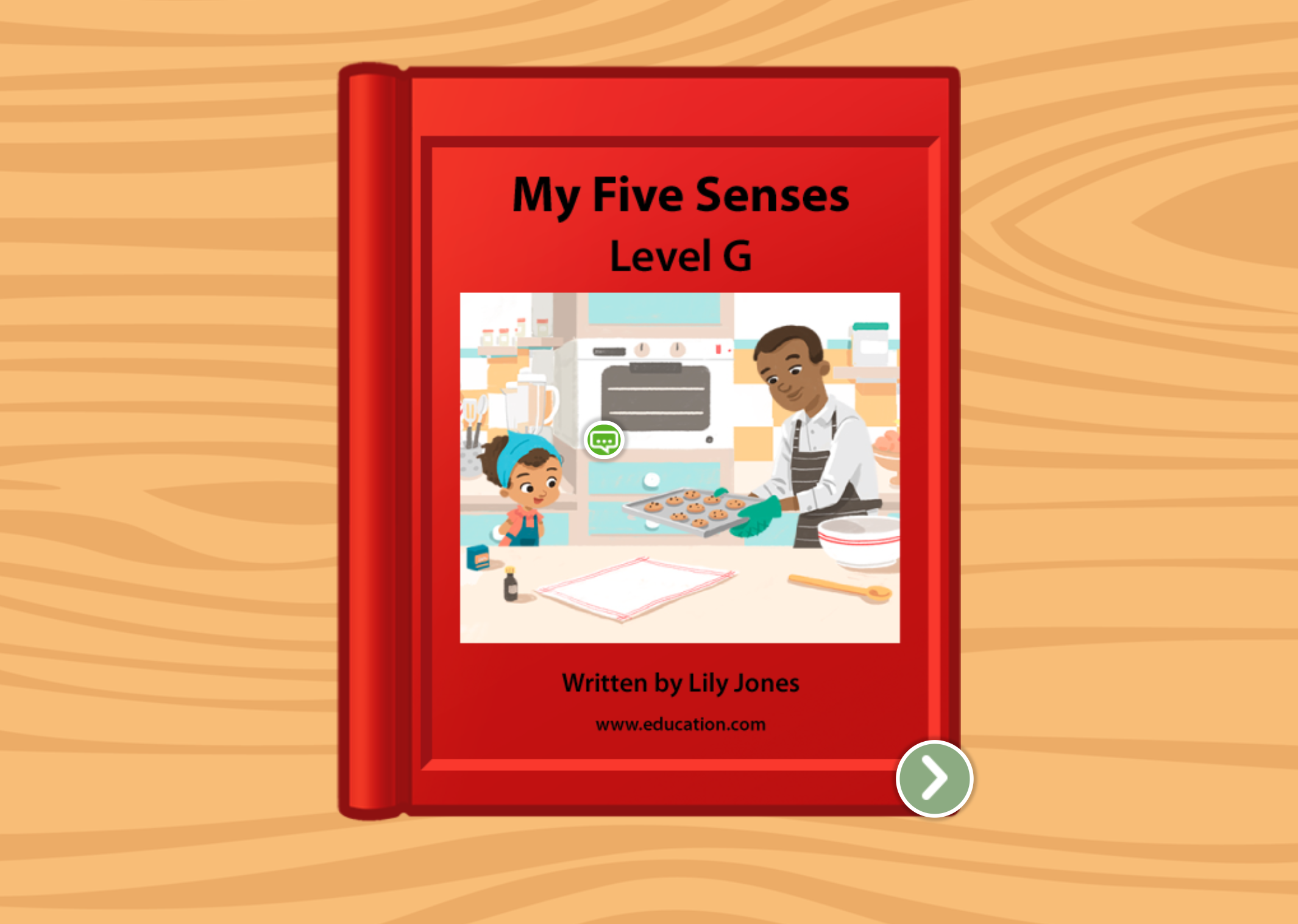 1st grade Reading & Writing Stories: My Five Senses: Level G