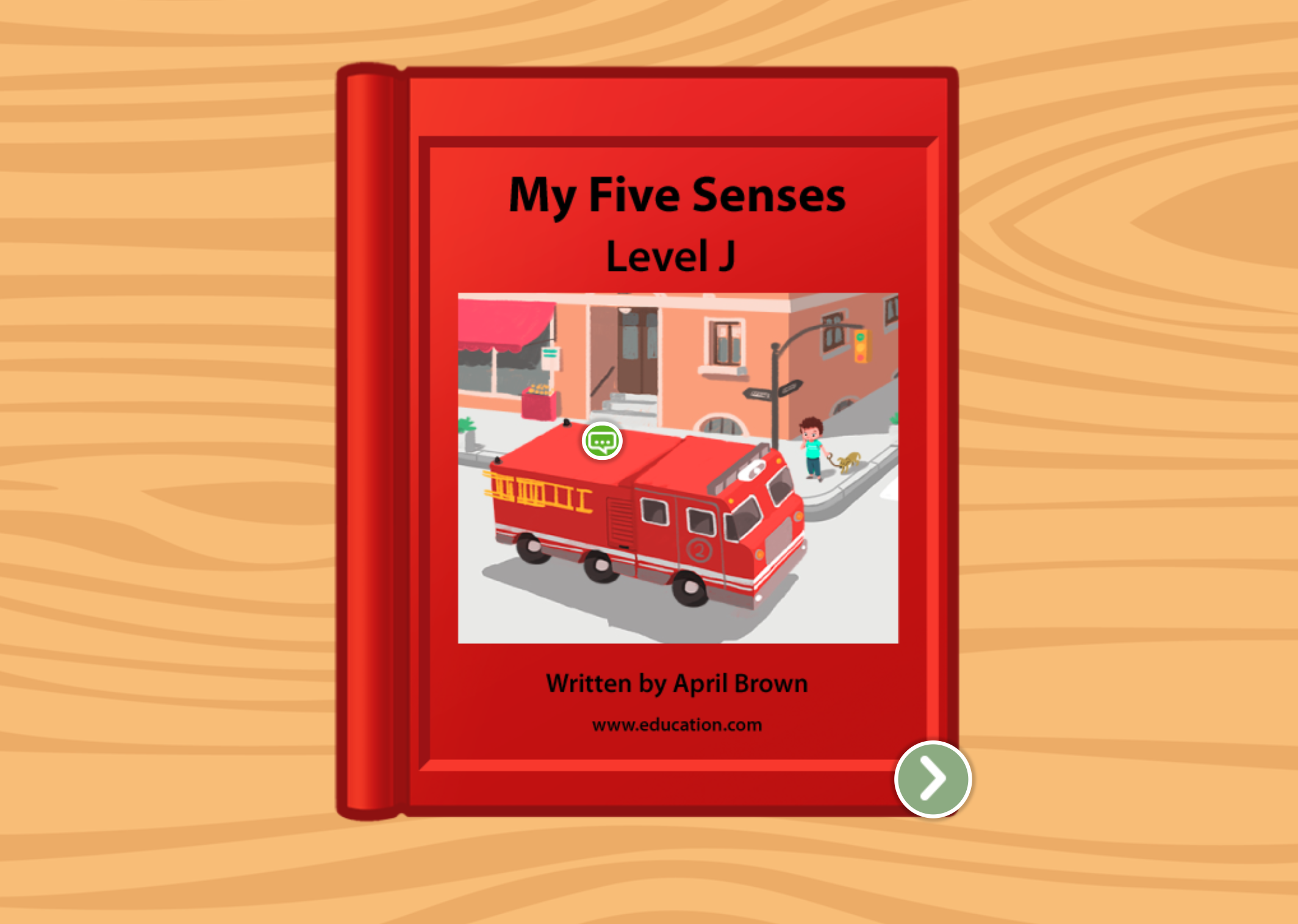 1st grade Reading & Writing Stories: My Five Senses: Level J