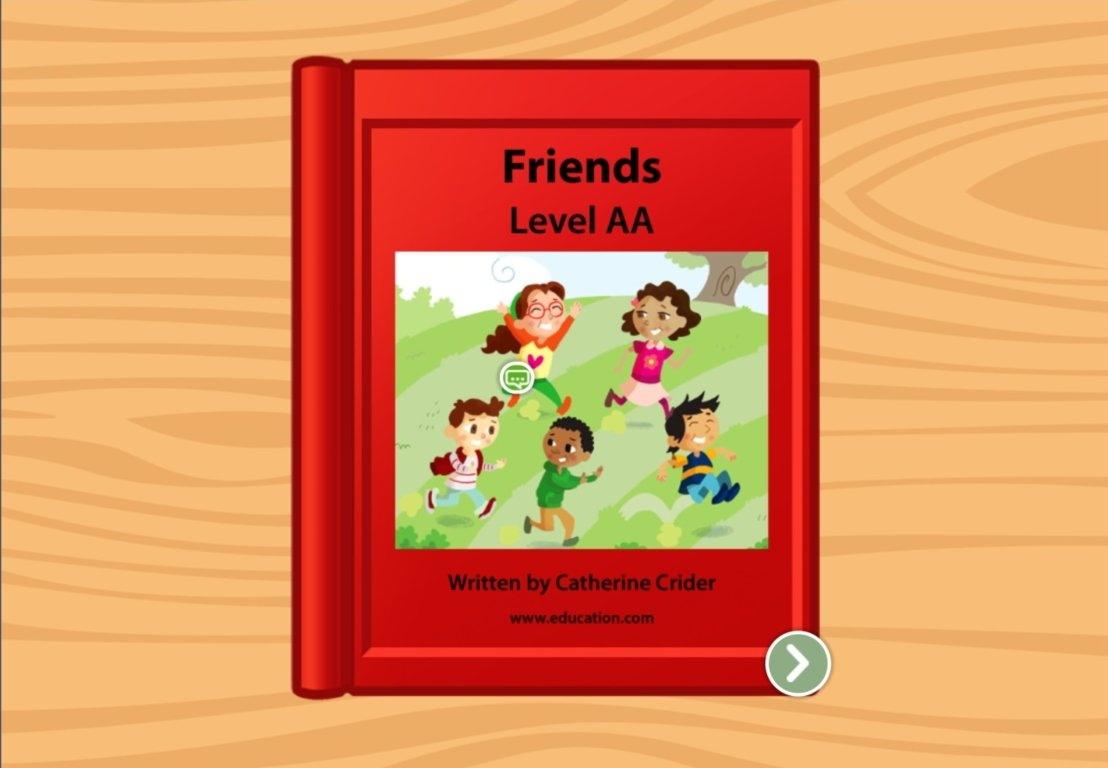 Kindergarten Reading & Writing Stories: My Friends: Level AA