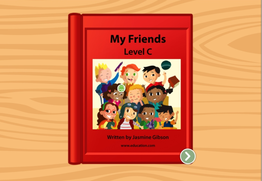 Kindergarten Reading & Writing Stories: My Friends: Level C