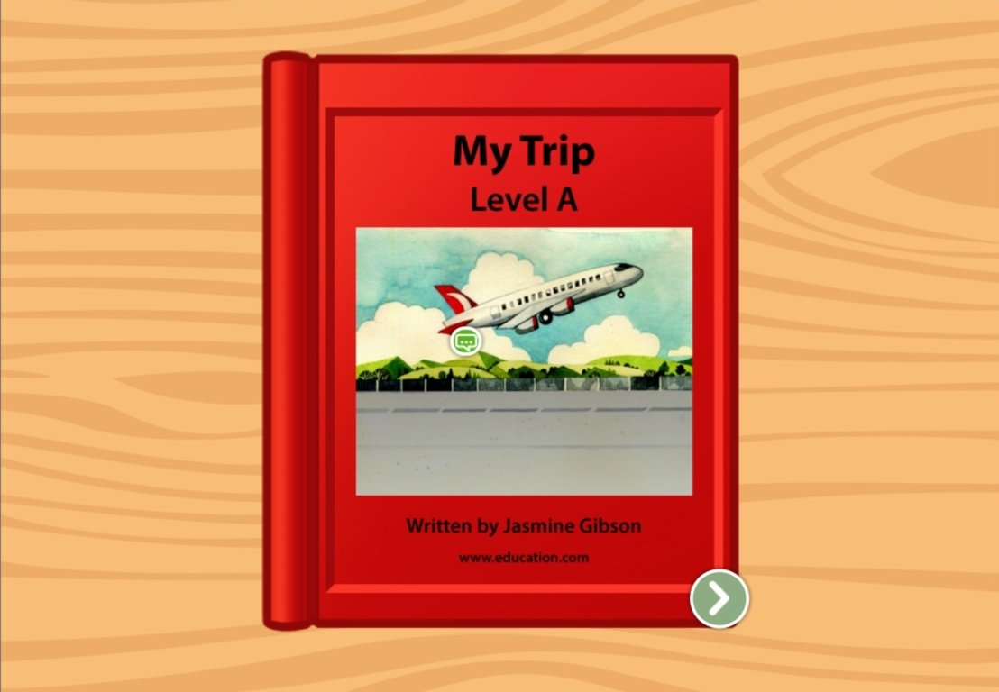 Preschool Reading & Writing Stories: My Trip: Level A
