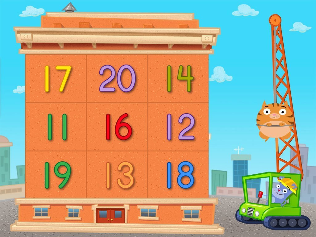 Kindergarten Math Games: Number Demolition: 11 to 20