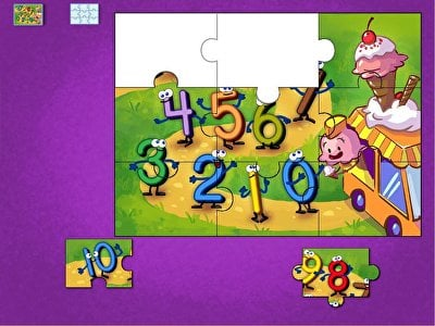 Numbers 0 to 10 Puzzle