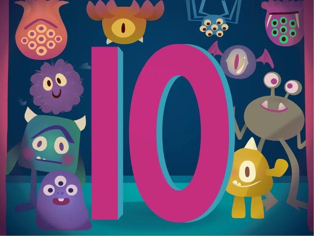 kindergarten Math Songs: Numbers 0-10 Song