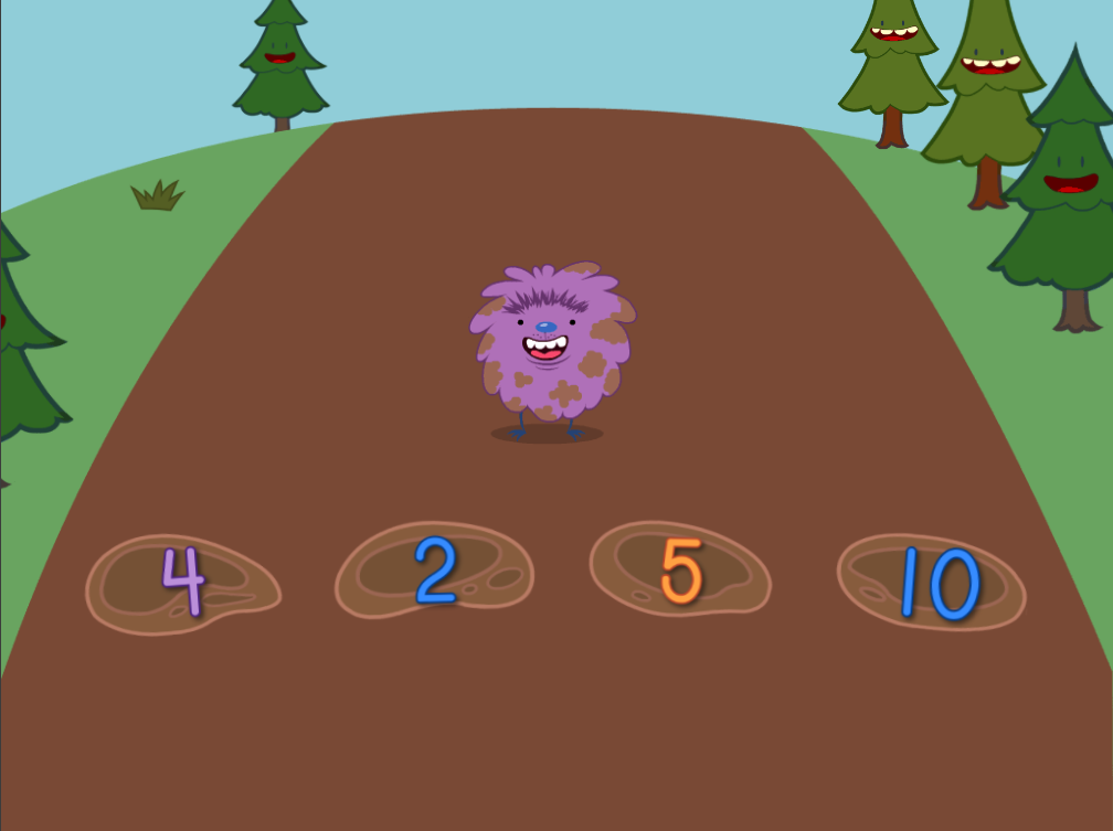 Preschool Math Games: Numbers Hopper: 1 to 10