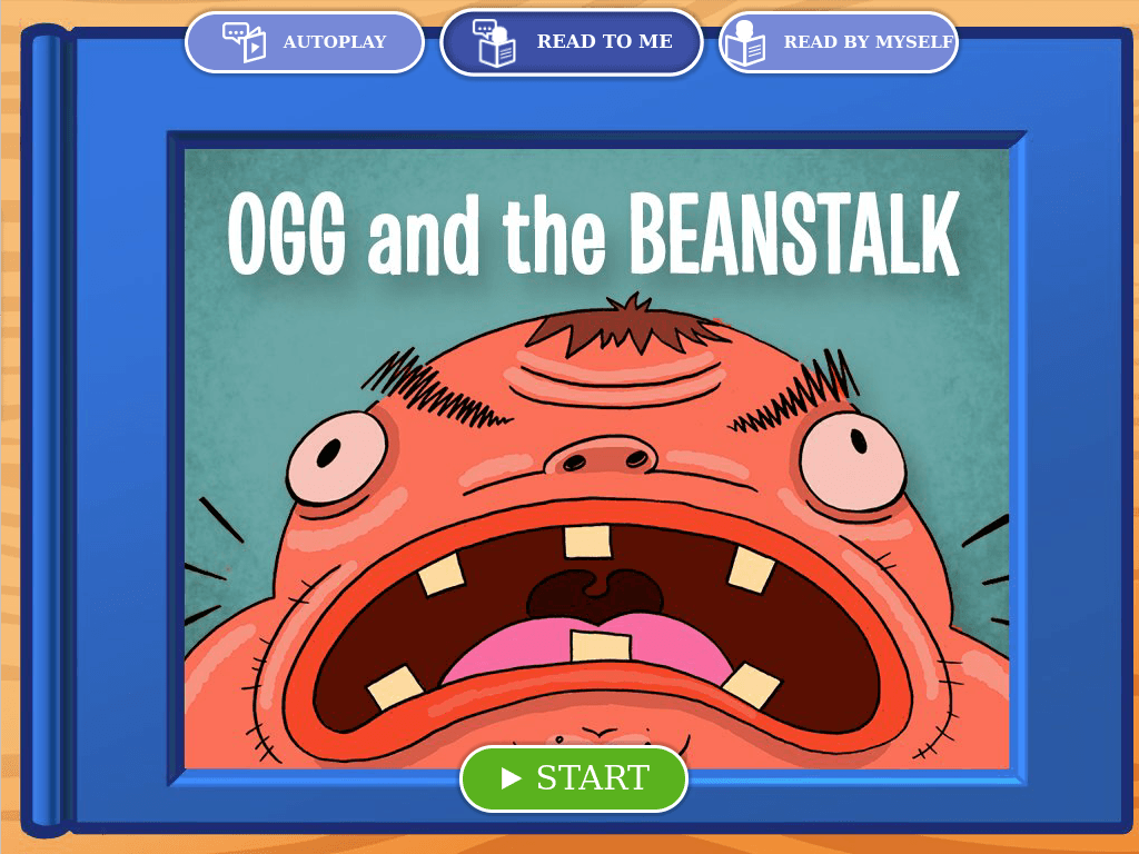 2nd grade Reading & Writing Stories: Ogg and the Beanstalk