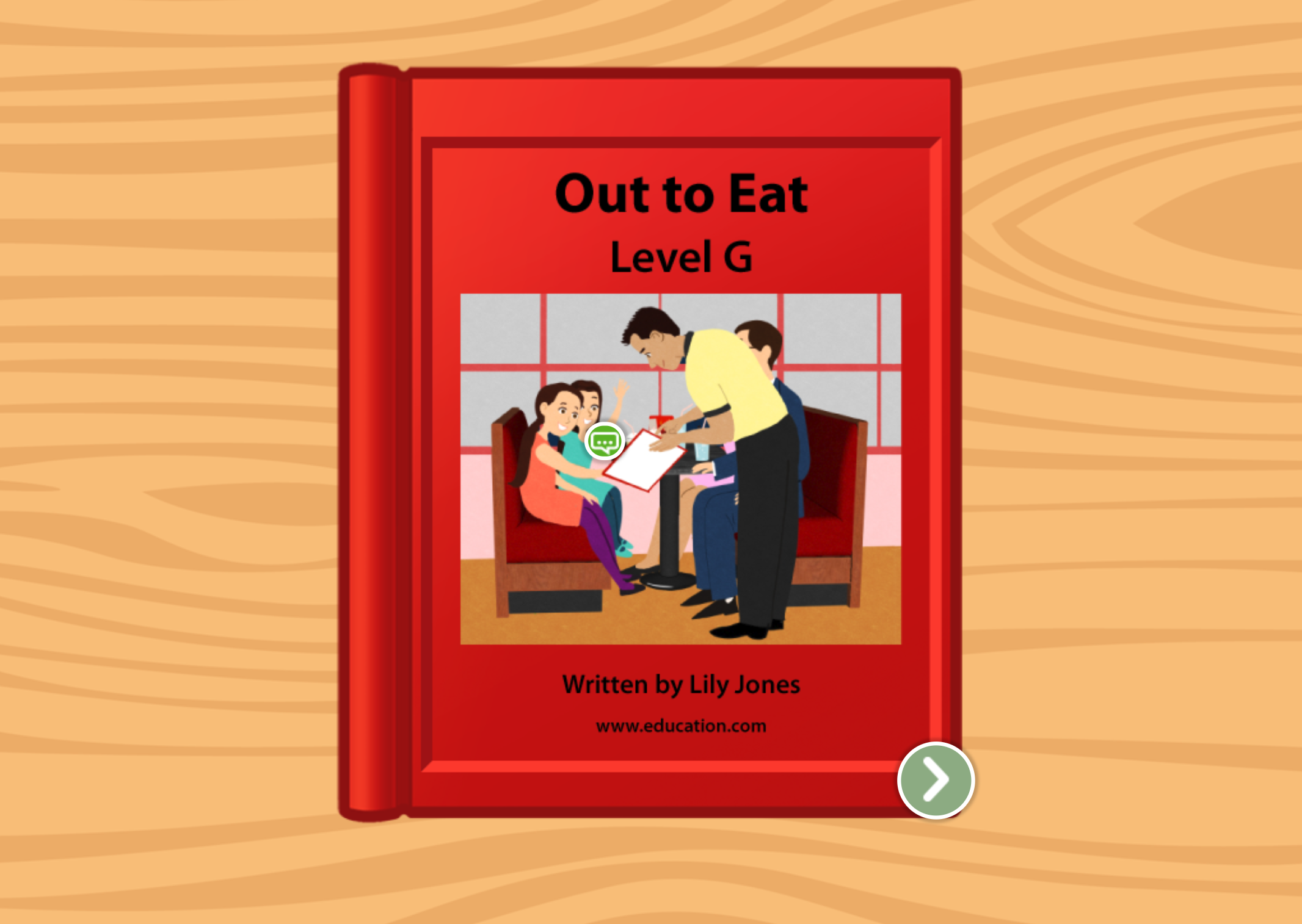 1st grade Reading & Writing Stories: Out to Eat: Level G