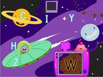 Alphabet Space Photoshoot