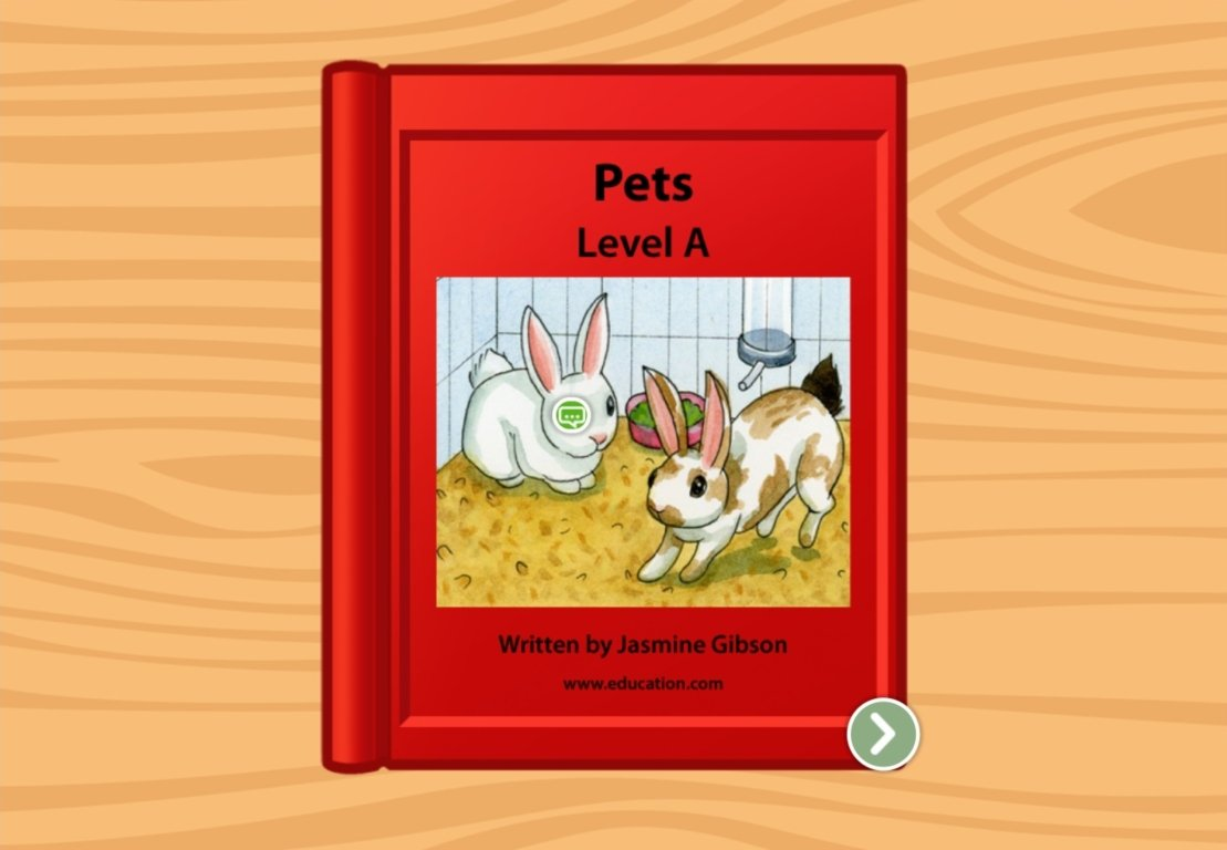 Preschool Reading & Writing Stories: Pets: Level A
