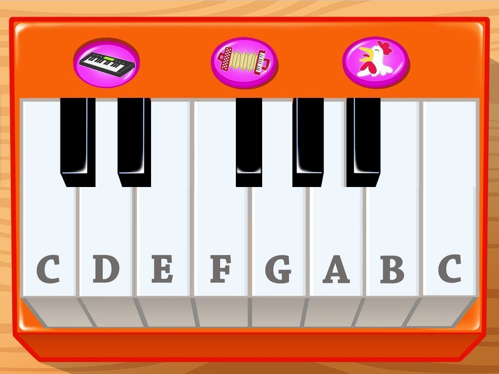 Preschool Reading & Writing Games: Piano Learning