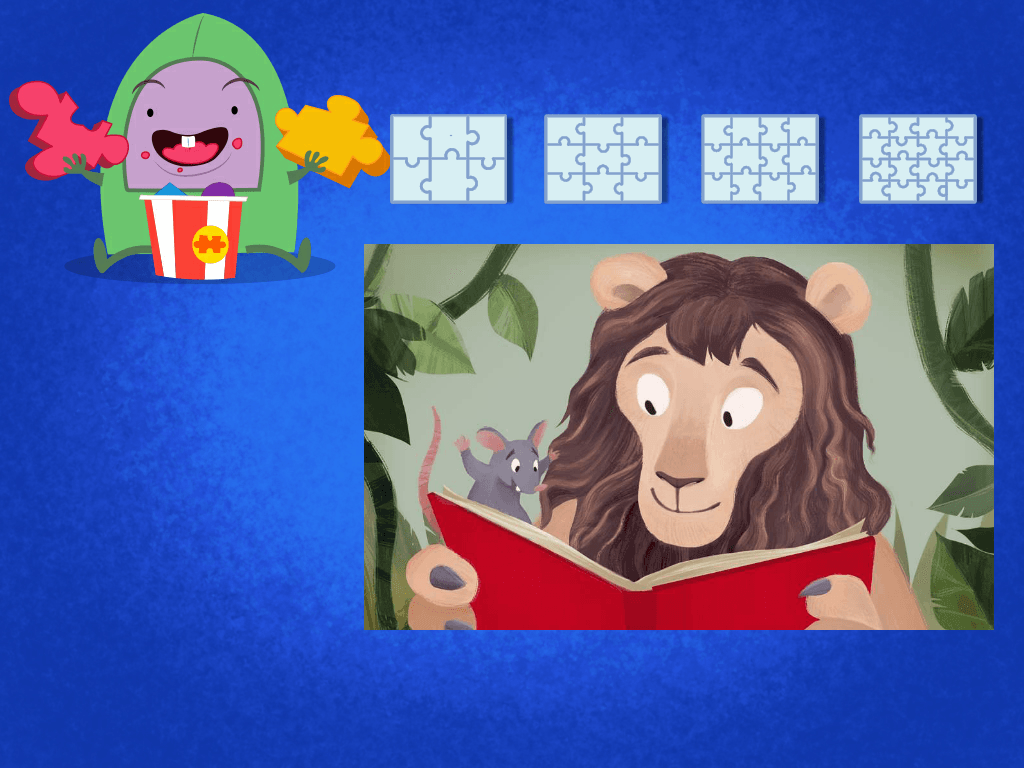 Preschool Math Games: Lion and the Rat Puzzle