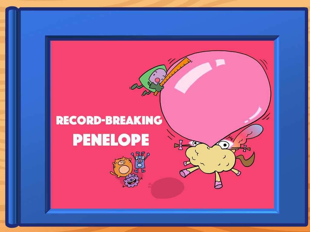 5th grade Math Stories: Record-Breaking Penelope