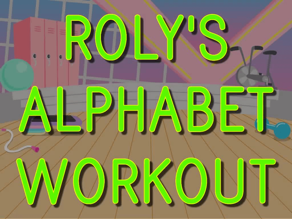 Preschool Reading & Writing Games: Roly Workout