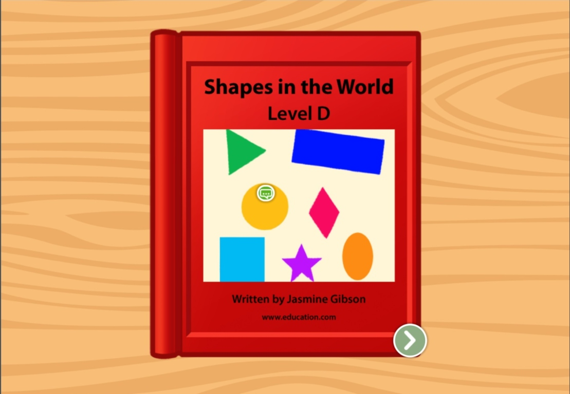 Kindergarten Reading & Writing Stories: Shapes in the World: Level D