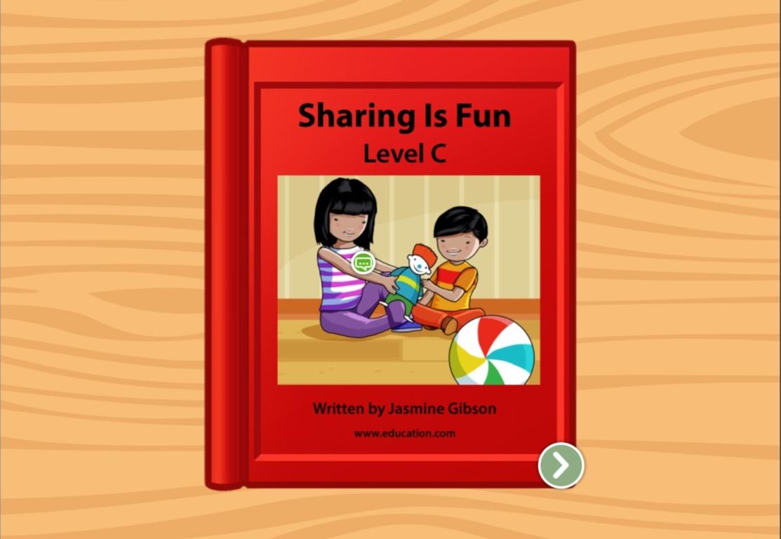 kindergarten Reading & Writing Stories: Sharing is Fun: Level C