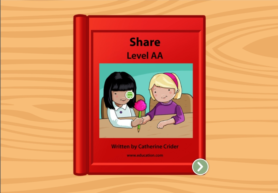 kindergarten Reading & Writing Stories: Sharing: Level AA