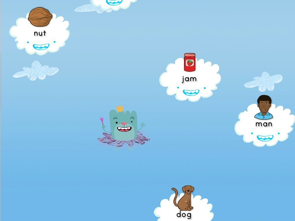 Short A Cloud Catcher Game | Game | Education.com