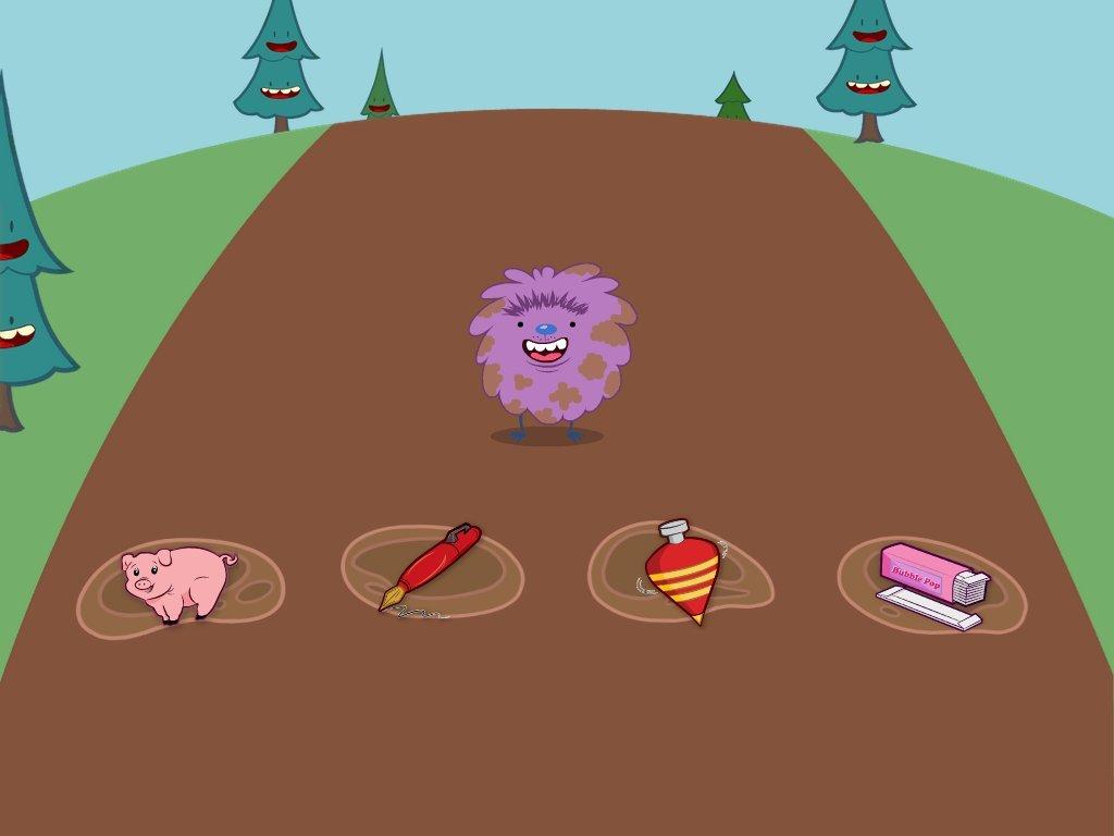 1st grade Reading & Writing Games: Short E Hopper