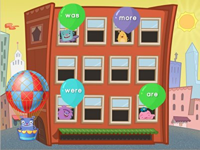 Sight Words Balloon Pop: Set 2