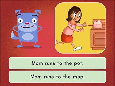 Sight Words Sentence Match: Set 2