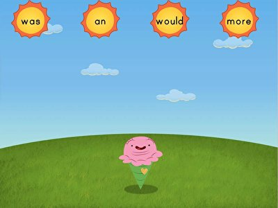 Sight Words Sun Attack: Set 2