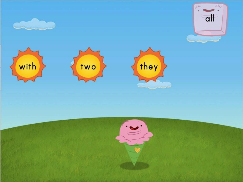 Sight Words Sun Attack 3: Game | Game | Education.com