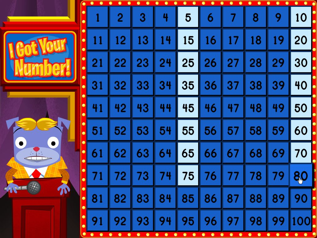 Skip Counting Game Show Fun Game Education Com