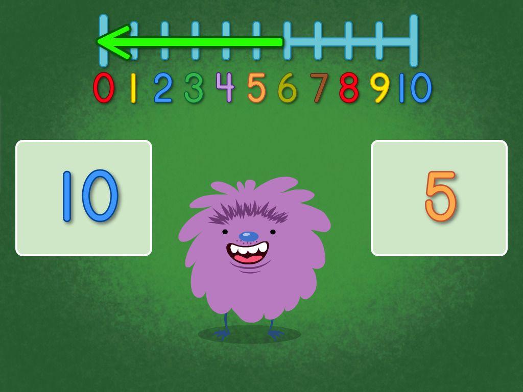 Kindergarten Math Games: Solve the Number Riddle