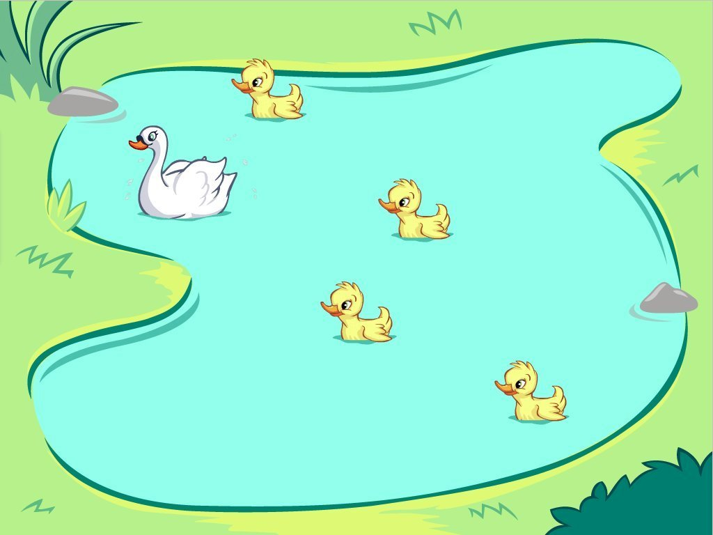 Preschool Math Games: Spot the Swans