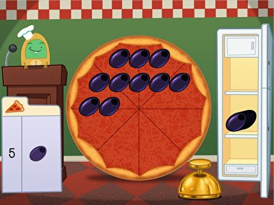 Subtraction Pizza Party