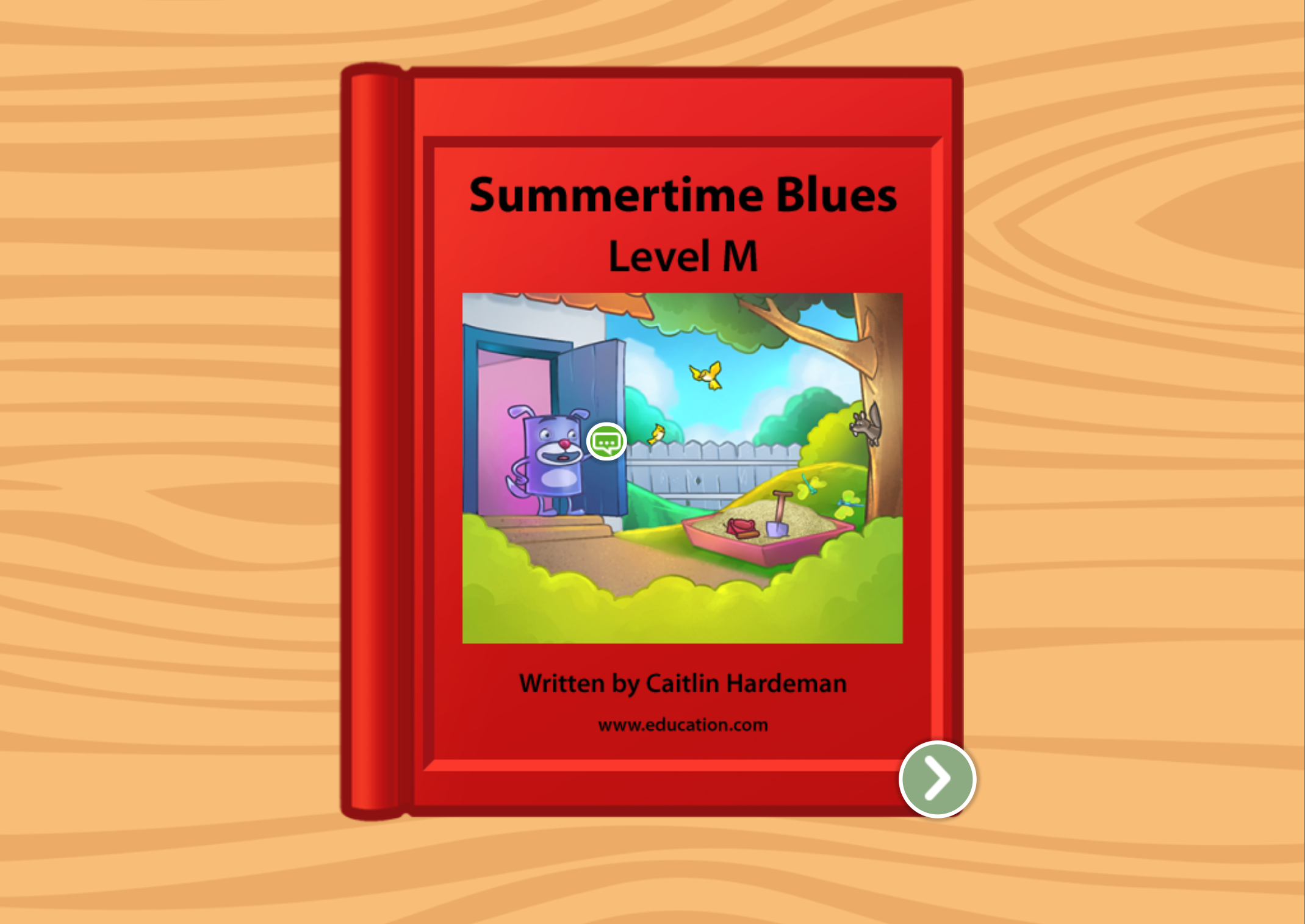 2nd grade Reading & Writing Stories: Summertime Blues: Level M