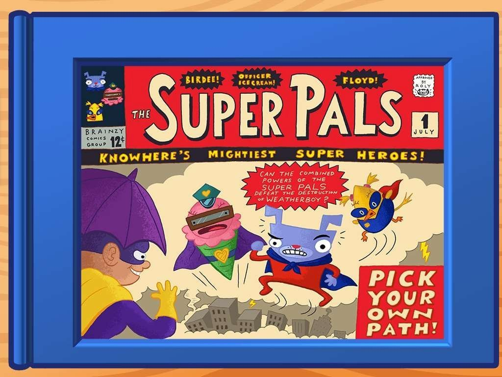 Kindergarten Reading & Writing Stories: The Super Pals